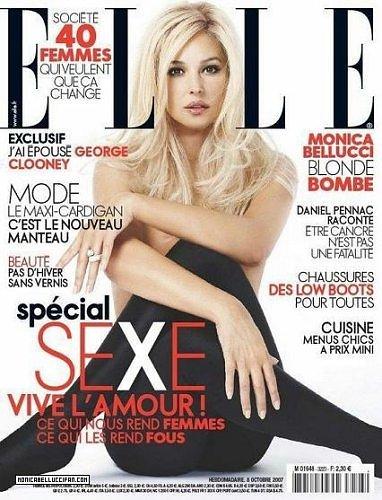 Monica Bellucci - Source: Elle.fr