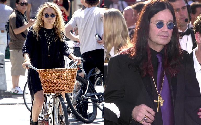 Mary-Kate, Ozzy Osbourne - Source: Google.com