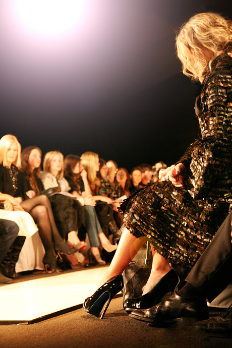 Rachel Zoe in YSL - Source: ELLE.com