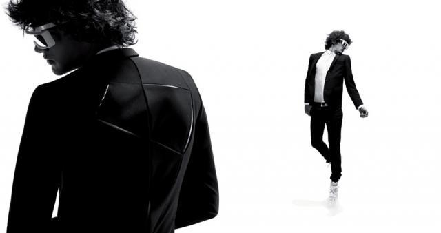 Photos taken by Designer Karl Lagerfeld for Dior Homme, Kris Van Assche - Source: Zimbio.com