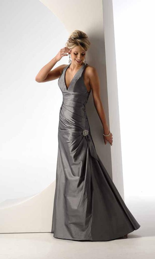 Gray goddess - Dress available from www.promgirl.net & it cost $99.99